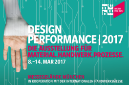 DESIGN PERFORMANCE | 2017 Exhibition of materials.crafts.processes